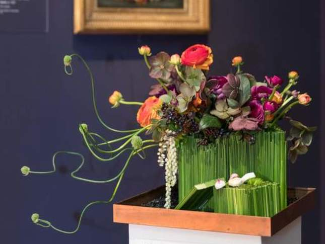 bouquets to art floral installation