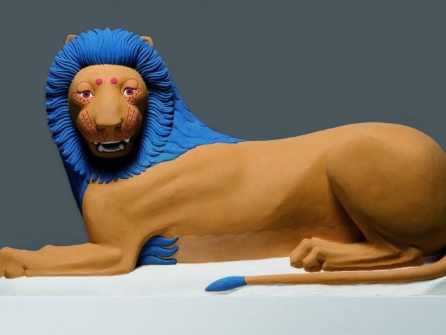 Reconstruction of a lion from Loutraki, 2005/2012