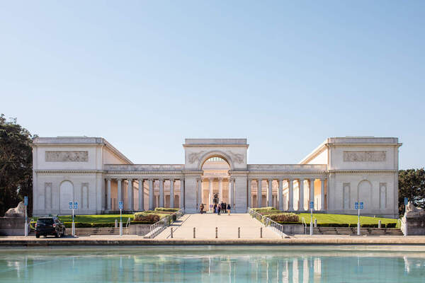 Legion of Honor in the daytime