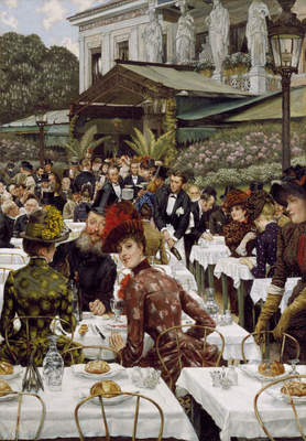 """James Tissot, """"The Artists' Wives"""", 1885"""