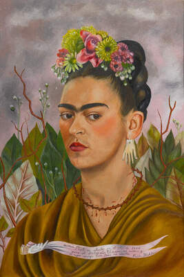 Frida Kahlo, Self-Portrait Dedicated to Dr. Leo Eloesser, 1940